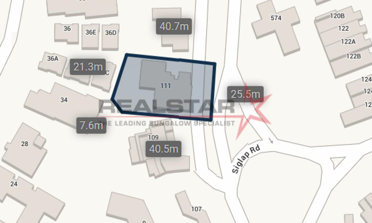 Siglap Road For Subdivision – $12xxpsf!