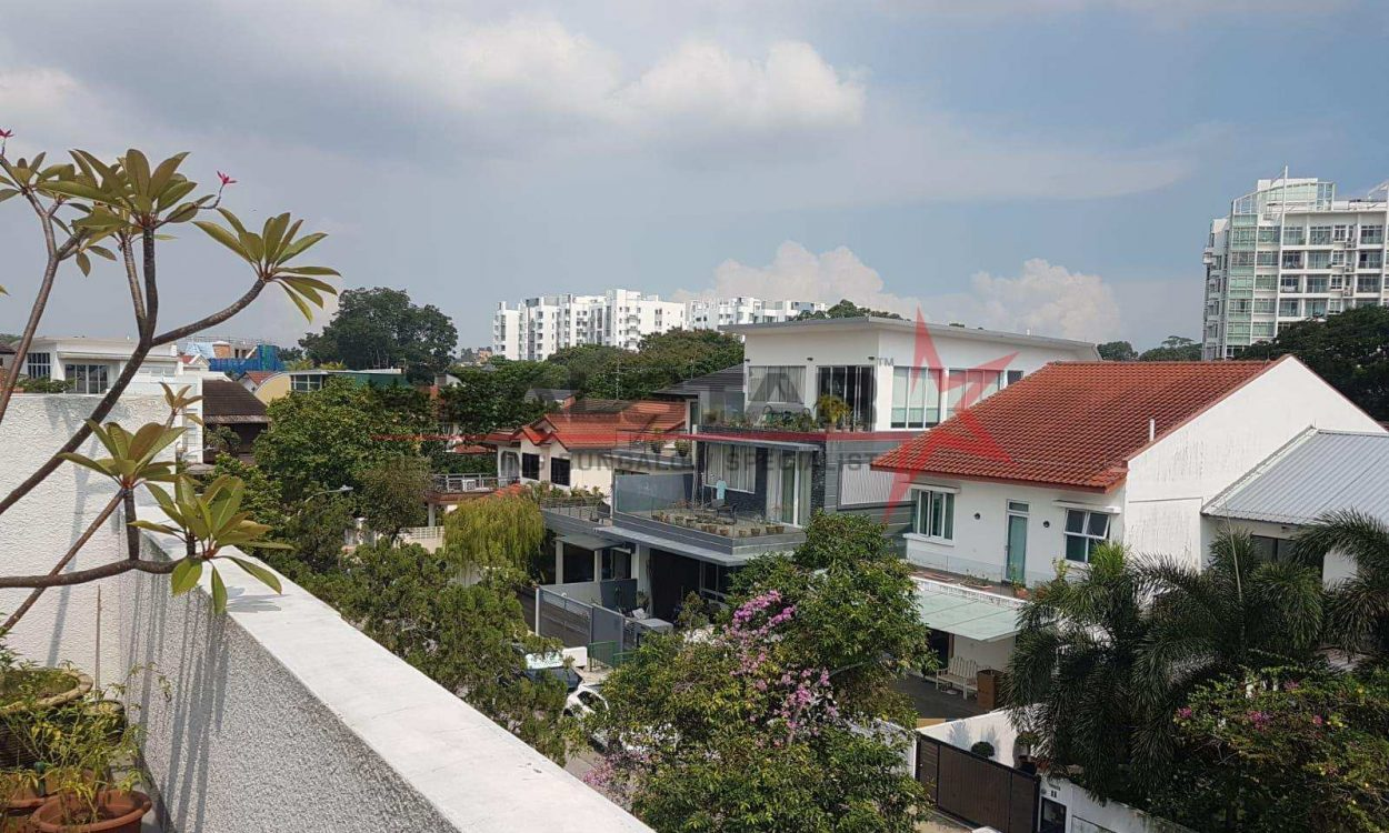 Wow! ! Rarely Available Modern House , 1KM To MGS School, 10mins To KAP Mrt Station!