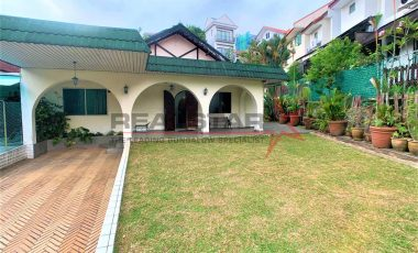 *NEW LIST*WITHIN 1 KM ST NICS *WALK TO MRT* LINKED-BUNGALOW FACING PARK